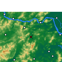 Nearby Forecast Locations - Xinxing - Map