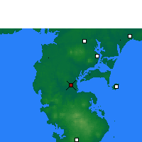 Nearby Forecast Locations - Haikang - Map
