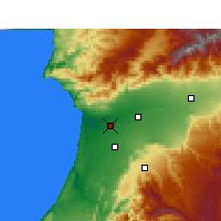 Nearby Forecast Locations - Agadir - Map