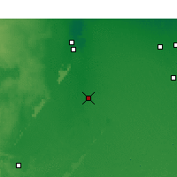 Nearby Forecast Locations - Touggourt - Map