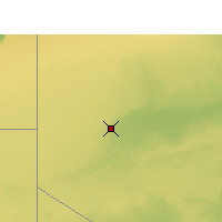 Nearby Forecast Locations - Tindouf - Map