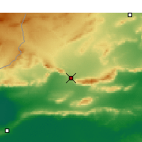 Nearby Forecast Locations - Gafsa - Map
