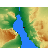 Nearby Forecast Locations - Ras Sedr - Map