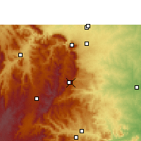 Nearby Forecast Locations - Graskop - Map