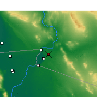 Nearby Forecast Locations - Yuma - Map