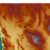 Nearby Forecast Locations - Mercury - Map