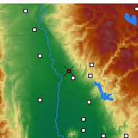 Nearby Forecast Locations - Chico - Map