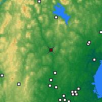 Nearby Forecast Locations - Concord - Map