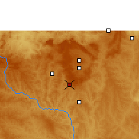 Nearby Forecast Locations - Gama - Map
