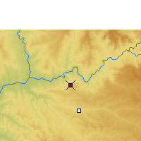 Nearby Forecast Locations - Capinópolis - Map