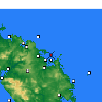 Nearby Forecast Locations - Bay of Islands - Map