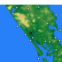 Nearby Forecast Locations - Dargaville - Map