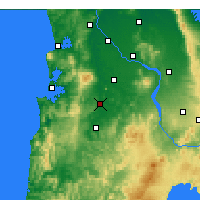 Nearby Forecast Locations - Otorohanga - Map