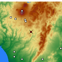 Nearby Forecast Locations - Taihape - Map