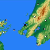 Nearby Forecast Locations - Porirua - Map