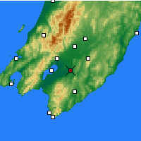 Nearby Forecast Locations - Martinborough - Map