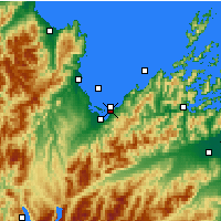 Nearby Forecast Locations - Abel Tasman National Park - Map