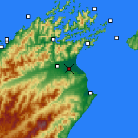 Nearby Forecast Locations - Blenheim - Map