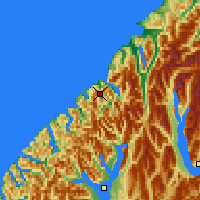 Nearby Forecast Locations - Milford Sound - Map