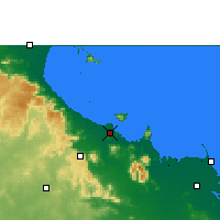 Nearby Forecast Locations - Townsville - Map
