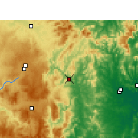 Nearby Forecast Locations - Tabulam - Map
