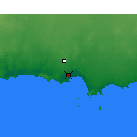 Nearby Forecast Locations - Esperance - Map