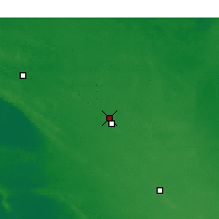 Nearby Forecast Locations - Lameroo - Map