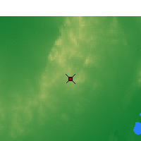 Nearby Forecast Locations - Broken Hill - Map
