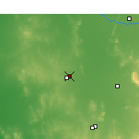Nearby Forecast Locations - Wyalong - Map