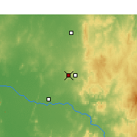 Nearby Forecast Locations - Parkes - Map