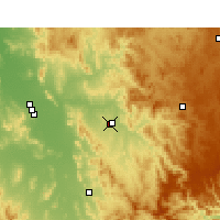 Nearby Forecast Locations - Holsworthy Control Range - Map