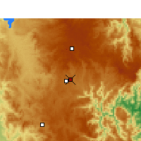 Nearby Forecast Locations - Armidale - Map