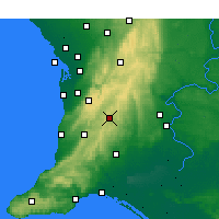 Nearby Forecast Locations - Mount Barker - Map
