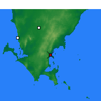 Nearby Forecast Locations - Port Lincoln - Map