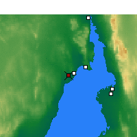 Nearby Forecast Locations - Whyalla Airport - Map