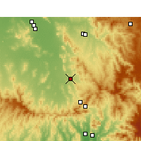 Nearby Forecast Locations - Quirindi - Map