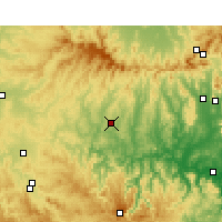 Nearby Forecast Locations - Merriwa - Map