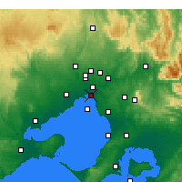 Nearby Forecast Locations - St Kilda (Melbourne) - Map