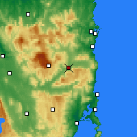 Nearby Forecast Locations - Fingal - Map