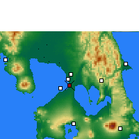 Nearby Forecast Locations - Manila - Map