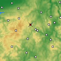 Nearby Forecast Locations - Korbach - Map