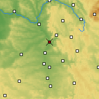 Nearby Forecast Locations - Forchheim - Map