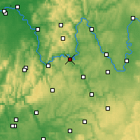 Nearby Forecast Locations - Wertheim - Map