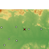 Nearby Forecast Locations - Akaltara - Map