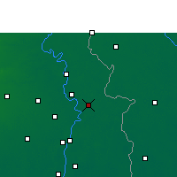 Nearby Forecast Locations - Ranaghat - Map