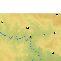 Nearby Forecast Locations - Shahabad - Map