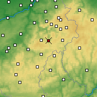 Nearby Forecast Locations - Vielsalm - Map