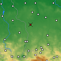 Nearby Forecast Locations - Gozdnica - Map