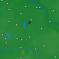 Nearby Forecast Locations - Radziejów - Map