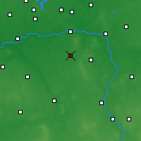 Nearby Forecast Locations - Tuliszków - Map